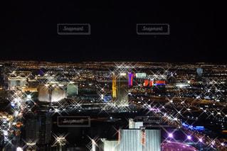 夜のラスベガスの写真・画像素材[2104514]