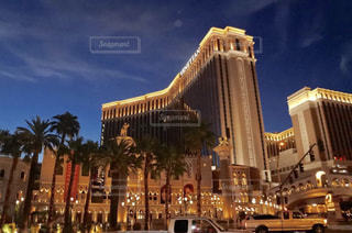 ラスベガスのホテルの写真・画像素材[2104526]
