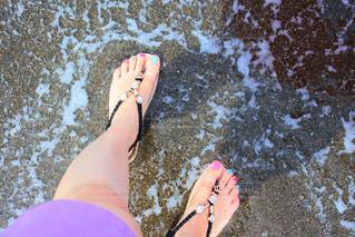 海を散歩の写真・画像素材[2104651]