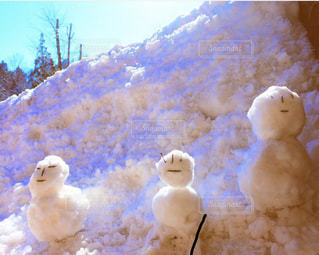 雪だるまの写真・画像素材[2105494]