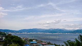 諏訪湖の写真・画像素材[2745895]