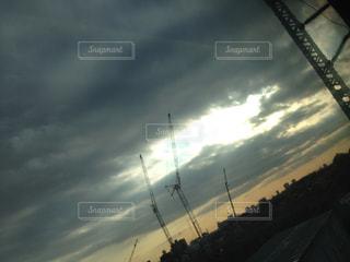 夕日の写真・画像素材[665608]
