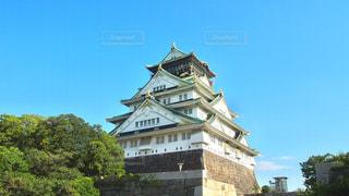 夏の大阪城の写真・画像素材[685348]