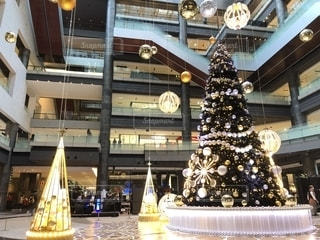 グランフロント大阪のクリスマスツリー2019横の写真・画像素材[2727984]