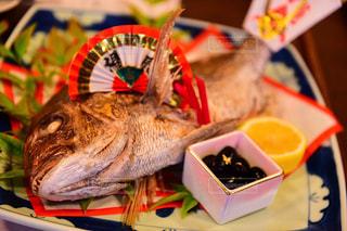 お食い始め 鯛 料理の写真・画像素材[1220584]