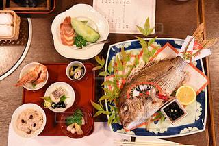 お食い始め 鯛 料理の写真・画像素材[1220586]