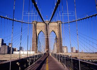 ブルックリンブリッジの写真・画像素材[668351]