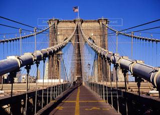 ブルックリンブリッジの写真・画像素材[668352]