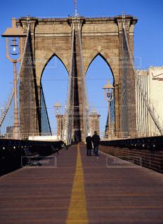 ブルックリンブリッジの写真・画像素材[668355]