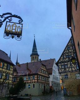 ドイツ・ヴァイカースハイムの街並みの写真・画像素材[952635]