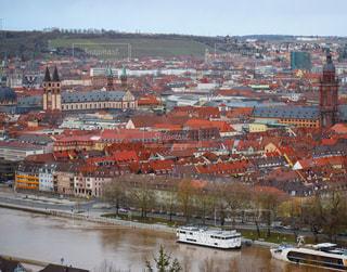 ドイツ・ヴュルツブルクの街並みの写真・画像素材[952643]