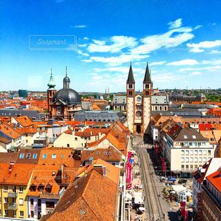 ドイツ・ヴュルツブルクの街並みの写真・画像素材[952666]