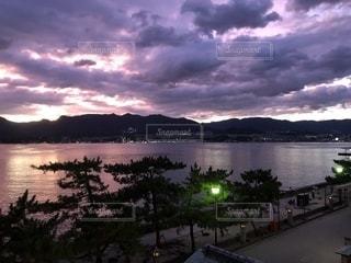 宮島の夕暮れの写真・画像素材[1629968]