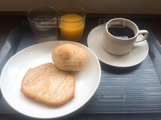 ビジネスホテルの朝食の写真・画像素材[1556209]
