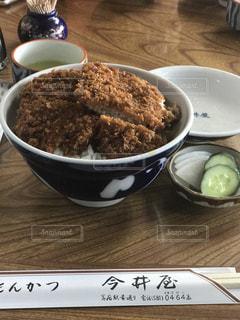 カツ丼の写真・画像素材[667714]