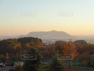秋の函館山の写真・画像素材[804147]