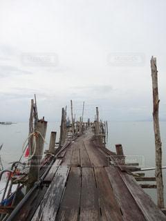 ペナン島の桟橋の写真・画像素材[846072]