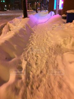 雪道の写真・画像素材[963110]