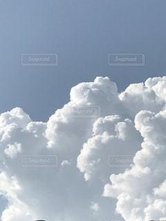 夏の入道雲の写真・画像素材[1506128]