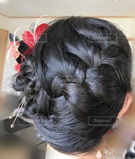 髪型の写真・画像素材[669939]