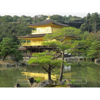 金閣寺の写真・画像素材[673939]