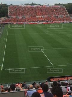 サッカー場  フィールドの写真・画像素材[670706]