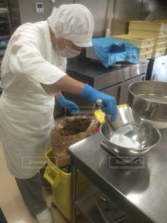 就労支援施設 クッキー製造 福祉 ケーキ製造の写真・画像素材[671667]