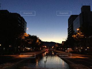 夜明け前の写真・画像素材[829388]