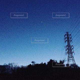 夜空の写真・画像素材[670384]