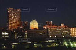 品川の夜景の写真・画像素材[830257]