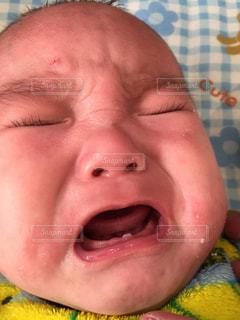 赤ちゃんの写真・画像素材[671213]