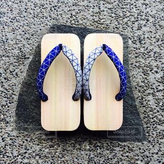 黒の靴のペアの写真・画像素材[1224951]