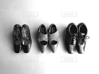 靴3足 上からの写真・画像素材[671799]