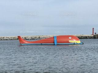 那珂湊のシンボル!クジラの大ちゃん🐳の写真・画像素材[699599]
