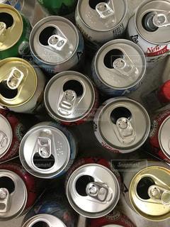 たくさんの空き缶の写真・画像素材[738839]