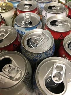 たくさんの空き缶の写真・画像素材[738844]