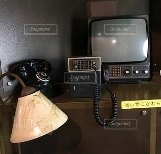 黒電話とレトロな仲間たち☎︎( ˘ᵕ˘ )℡の写真・画像素材[759455]