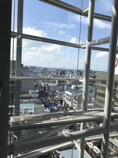 デパートの窓から見た水戸まちなかフェスティバル😃の写真・画像素材[760999]