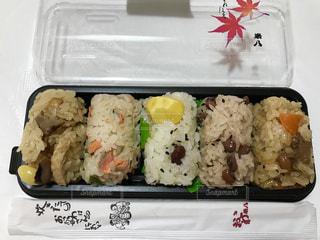 五種類のおこわ♪美味しかったです😋の写真・画像素材[761043]