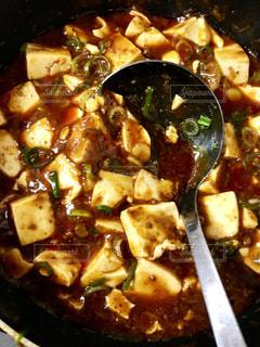 ヒーハー💦辛い麻婆豆腐🤣の写真・画像素材[1118961]