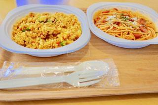 イベント会場での食事😋の写真・画像素材[1411706]