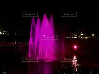 ピンクの噴水⛲の写真・画像素材[1443749]