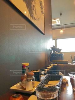 カフェの店内の写真・画像素材[1555925]