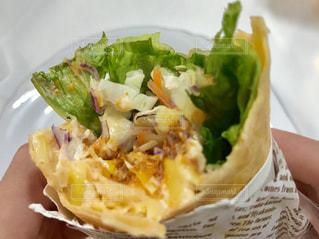 おいしいトルティーヤ😋食事中の写真・画像素材[1690818]