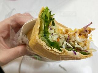 おいしいトルティーヤ😋食事中の写真・画像素材[1690819]