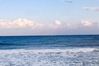 青い空と青い海🌊の写真・画像素材[1841190]