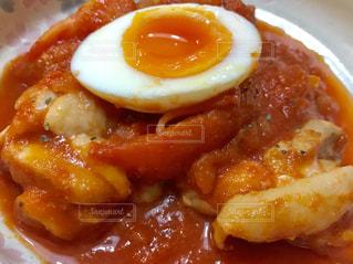 チキンのトマト煮🍅ホールトマト➕フレッシュトマトで美味しさアップ😋👍の写真・画像素材[2248074]
