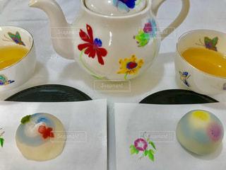 かわいい夏の和菓子🎆💕の写真・画像素材[2333887]