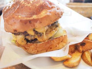 ハンバーガーの写真・画像素材[673187]
