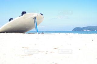 近くの砂浜のビーチの写真・画像素材[792072]